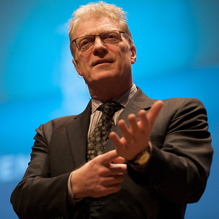By Sebastiaan ter Burg - Flickr: Sir Ken Robinson @ The Creative Company Conference, CC BY-SA 2.0, https://commons.wikimedia.org/w/index.php?curid=80694632